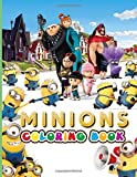 Minion Coloring Book: Minion Stress Relieving Coloring Books For Adults