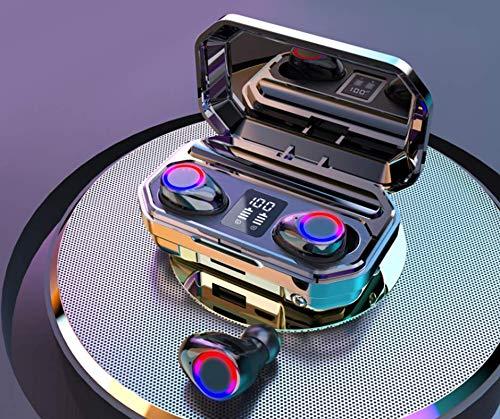 Audífonos Inalámbricos | Bluetooth | Auriculares Inalámbricos | Indicador de carga LED | Sonido 9D | Power Bank (caja de carga de...