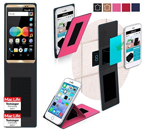 Hülle für Allview P8 eMagic Tasche Cover Hülle Bumper | Pink | Testsieger