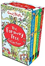 [Enid Blyton] Enid Blyton The Magic Faraway Tree Collection 4 Books Box Set Pack (Up The Faraway Tree, The Magic Faraway Tree, The Folk of The Faraway Tree, The Enchanted Wood) - Paperback