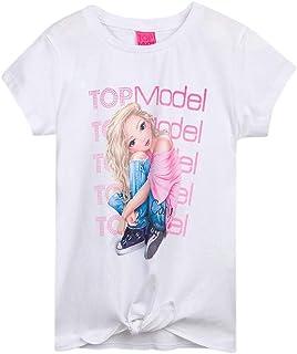 Top Model Niña T-Shirt, Camiseta, Blanca