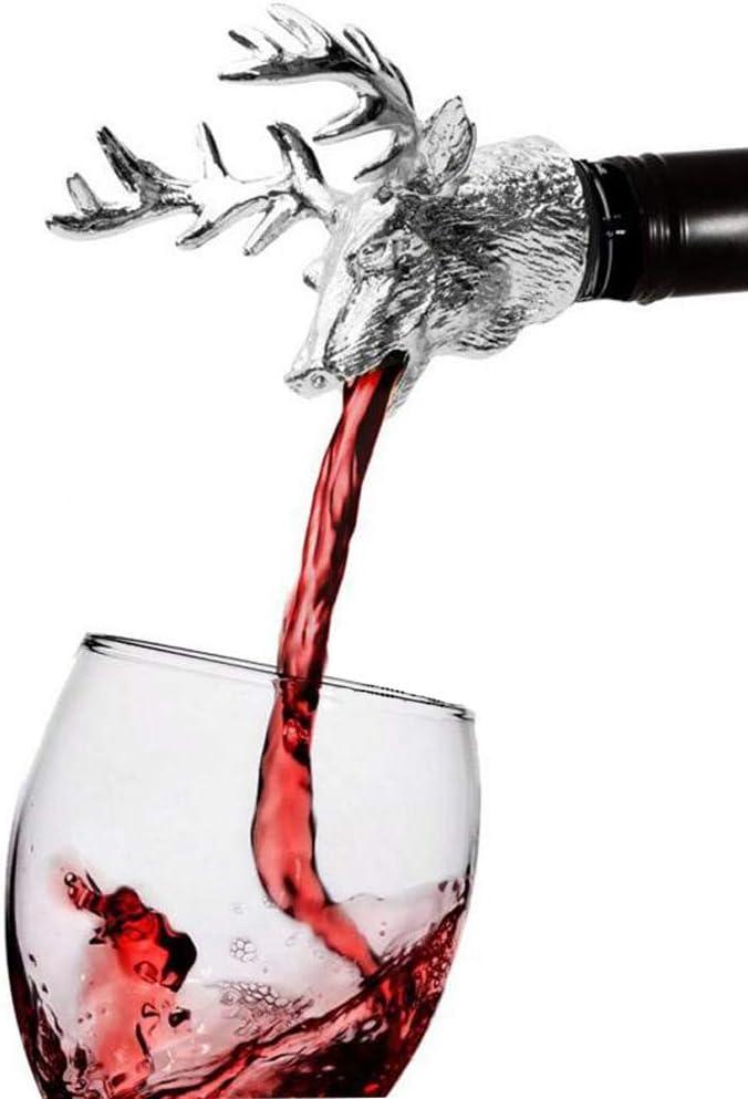 Wine Stopper Sale price Pourer Caliamary San Antonio Mall with Metal Si Aerator