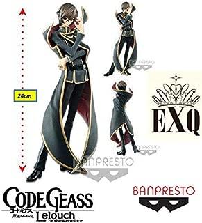 Code Geass Lelouch Of The Rebellion Exq - Lelouch Lamperouge - Ref: 28998/28999 Bandai Banpresto/
