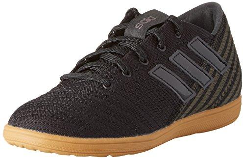 adidas Unisex-Kinder Nemeziz 17.4 IN Sala Fußballschuhe, Schwarz (Core Black/core Black/Utility Black), 35.5 EU