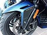 2 pegatinas 3D Fender Protection compatible con Roller Kymco XCITING S 400 i