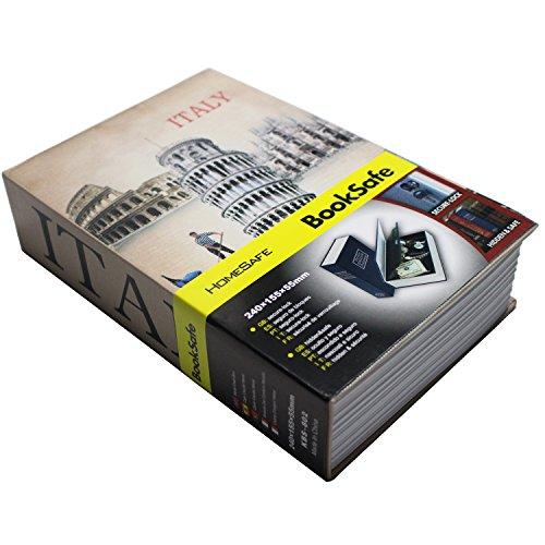 SEPOX - Caja fuerte forma libro cerradura llaves