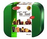 Delacre Tea Time 1000 g Dose, 1er Pack (1 x 1 kg) - Gebäckmischung mit und ohne Schokolade - Vielfältige Großpackung aus Keksen und Gebäck