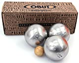 Obut Loisir inox Salamandre, jeu de 3 boules