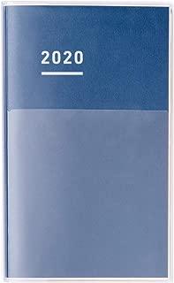コクヨ ジブン手帳 DIARY 手帳 2020年 A5 スリム マンスリー&ウィークリー インディゴ ニ-JCD1DB-20 2019年 11月始まり