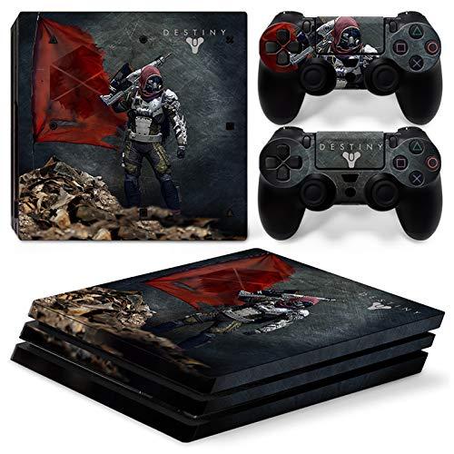 46 North Design Ps4 Pro Playstation 4 Pro Pegatinas De La Consola Guardian + 2 Pegatinas Del Controlador
