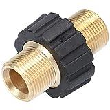 Doppio raccordo M22 x 1,5 AG, connettore per gommato, adattatore per idropulitrice