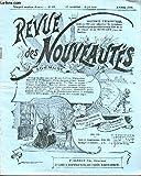 REVUE DES NOUVEAUTES N°81 / AVRIL - Protège-montre-chevalet. Montre huitaine. Etui parfum. Moussolr à...