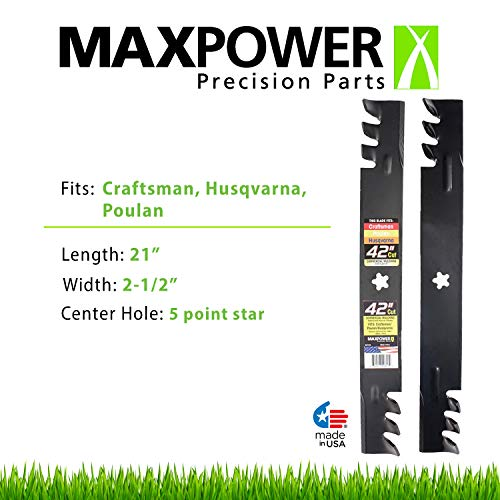 Maxpower 561713XB: Best highest cutting depth munching blade