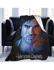 Yaxinduobao The Vampire Diaries Damon Ian Somerhalde fluffig fleecefilt, luddig, mjuk filt