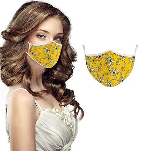 COOL Mask Unisex Fashion Washable Face Mask Gesichtsmaske, Design 12, One Size