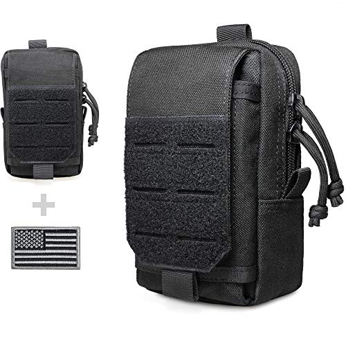 WYNEX Tactical EDC Pouch, Molle Utility Pouches Gadget...