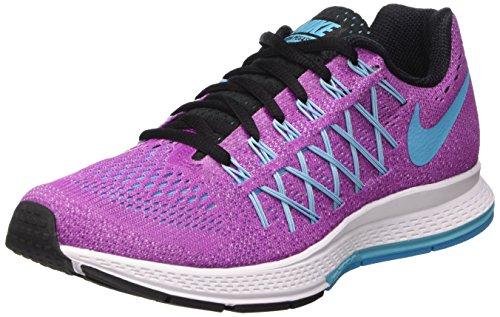 Nike Wmns Air Zoom Pegasus 32, Scarpe da Ginnastica Donna, Viola (Hyper Violet/GMM Bl/White/Blk), 38...