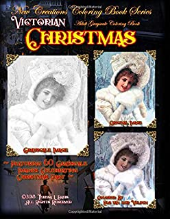 New Creations Coloring Book Series: Victorian Christmas