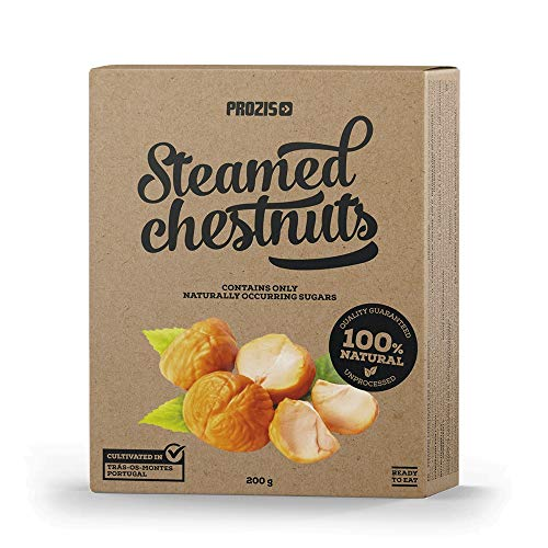 Prozis Steamed Chestnuts Natural, 200 g