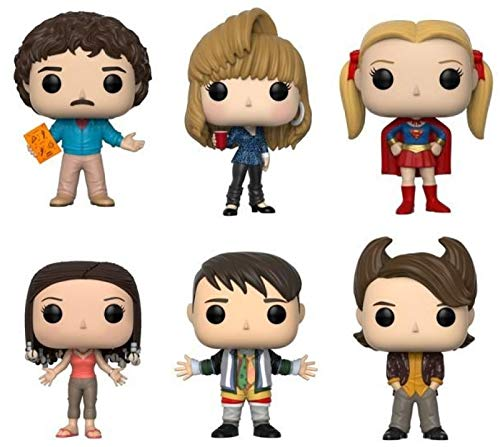 """Funko Pop! Television: Friends Series 2 Collectible Vinyl Figures, 3.75"""" (Set of 6)"""
