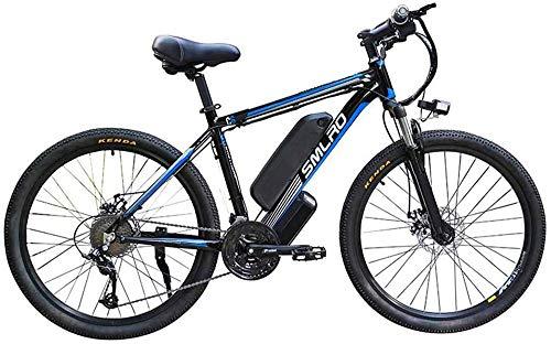 Bicicletas Eléctricas, 26' bicicleta eléctrica de montaña for adultos, 360W Ebike de aleación de aluminio de bicicletas extraíble, 10A batería 48V / litio, 21 velocidad conmuta E-bici de ciclo al aire