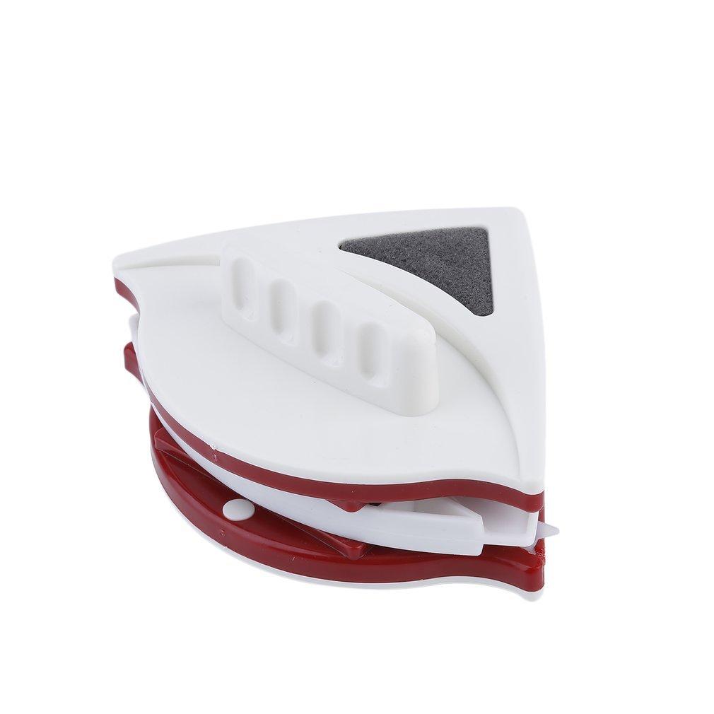 Leoboone Conveniencia Ajustable de Doble Cara de Cristal de Ventana del Limpiador del Adecuado para 15-22m m de Doble Capa de Vidrio Hueco de Limpieza Herramientas: Amazon.es: Hogar