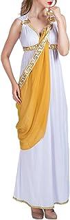 EraSpooky Donna Troy Storico Dea Greca Romano Toga Costume