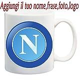 Tazza Mug S.S Calcio Napoli Personalizzata con Nome,Frase,Foto ECC. Idea Regalo