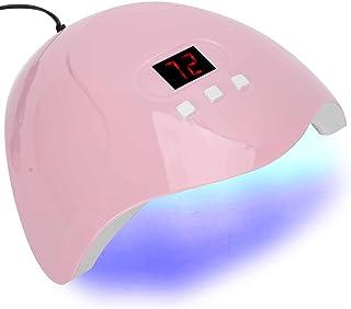 Lámpara de uñas de gel UV LED, secador de esmalte de gel de uñas 54W LED UV Nail Art Curing Light Manicure Light Machine Tool
