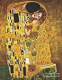 Gustav Klimt Agenda 2019: Art Nouveau Agenda settimanale con calendario 2019 | Il Bacio | 1 Settimana per Pagina | Da Gennaio a Dicembre 2019