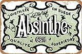 AIFEI Absinthe-BLANQUI Poster Zinn Wandschild Plakette