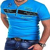 HOSD Camiseta de Hombre Top Camiseta de Manga Corta Casual Masculina Camiseta de Hombre