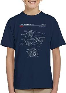 NASA Joint Airlock Quest Blueprint Kid's T-Shirt