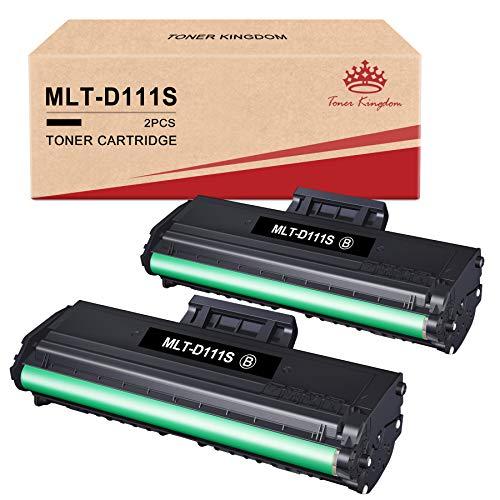 Toner Kingdom D111S MLT-D111S Cartucce Toner Compatibile per Samsung MLT-D111S per Samsung Xpress M2070 M2026 M2070W M2070FW M2026W M2020 M2022 M2020W M2022W (2 Nero)