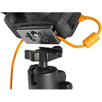 TetherBlock Arca Graphite - Cable Connection and Port Protector for Tethered Photography