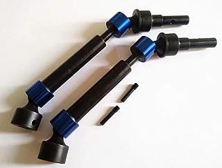 HD Splined CVD Steel F/R Drive Shafts Blue for Traxxas E Revo 2.0 8650 8652 8653