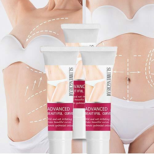 Crema adelgazante Fast Fat Burner, Crema anticelulítica, Crema adelgazante para muslos, piernas, abdomen, brazos y glúteos