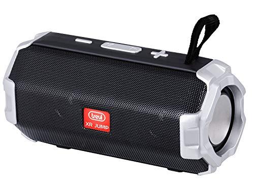 Trevi XR Jump XR 8A20 Altavoz Amplificado con MP3, USB, MicroSD, Bluetooth, función TWS, batería Recargable Negro