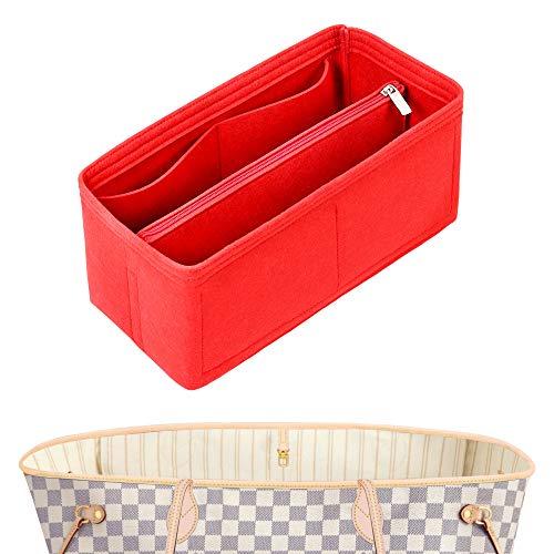DONPEREGRINO V Taschenorganizer Filz für Frauen Tasche, Windeltasche Organisator, Multifunktional Handtaschen Bag in Bag Organizer