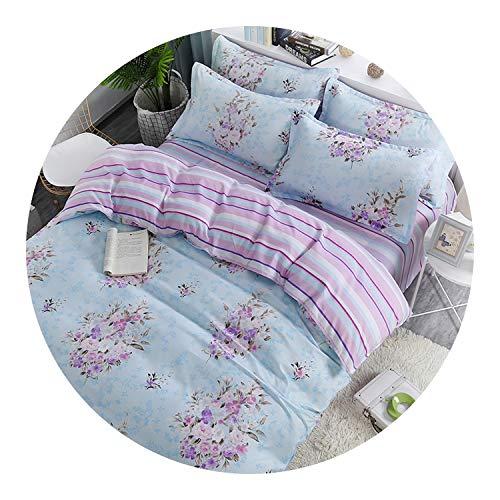 Pursuit-of-self Home Textile Little Bear Kid Child Girls Bedding Set,8,Queen,Flat Bed Sheet