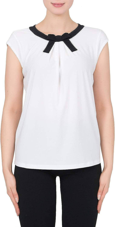 Joseph Ribkoff Women's Top Style 191155 White Black