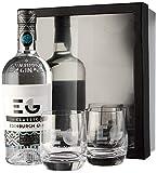 Edinburgh Gin Classic Gin with Two Glasses Gift Set