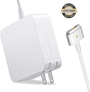 Mac Book Pro Charger, 60W Magsafe 2 Power Adapter T-Tip Magnetic Connector Charger for Mac Book Pro Retina 13-inch and Mac Book Air(After Late 2012)