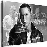 Myartstyle - Bilder Eminem Band 100 x 70 cm Leinwandbild