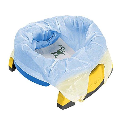 Vital Innovations 2730-13 2in1 Potette Plus - das Reisetöpfchen, blau/gelb