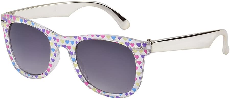 Frankie Ray Eyetribe Gidget Shade Sunglass for Kids, Multicolour Heart