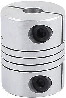 X-Dr 20mm Diameter 25mm Length 6mmx6mm Aluminum Alloy Spline Shaft Flexible Helical Coupling (6bddd0f5-a222-11e9-8d7c-4cedfbbbda4e)