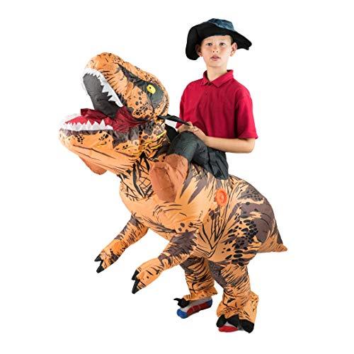 Bodysocks® Aufblasbares Deluxe Dinosaurier Kostüm für Kinder