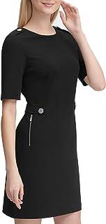 Women's Crepe Shift Dress
