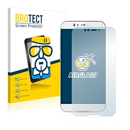 BROTECT Panzerglas Schutzfolie kompatibel mit UMi Iron - AirGlass, 9H Härte, Anti-Fingerprint, HD-Clear